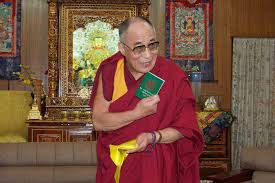 His Holiness with Green Book