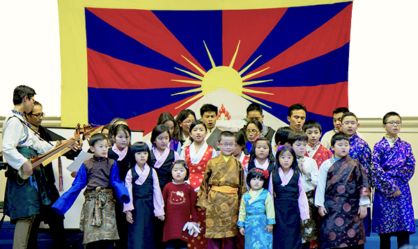tibetan community UK Chldren dance1