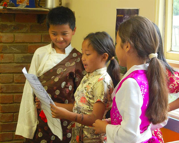 tibetan community UK Chldren study1