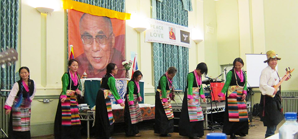 tibetan community UK dance group2