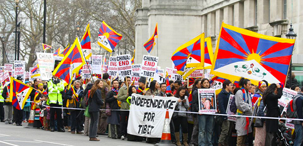 tibetan_Community_UK_London_Protest