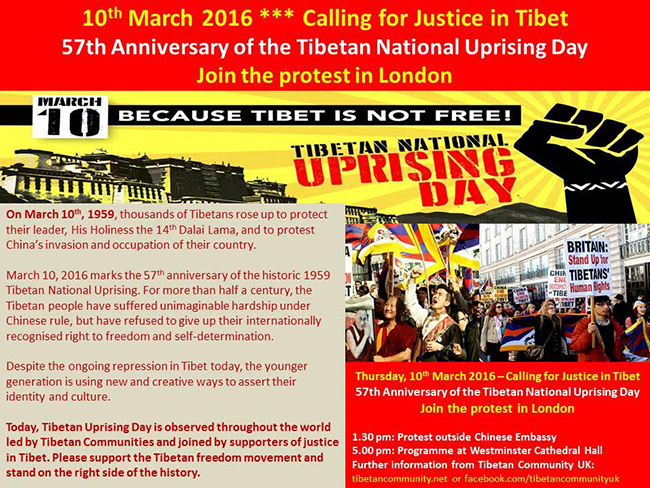 10th-March-in-London-Tibetan-